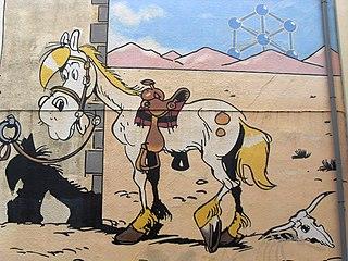 caballos famosos de los cómics