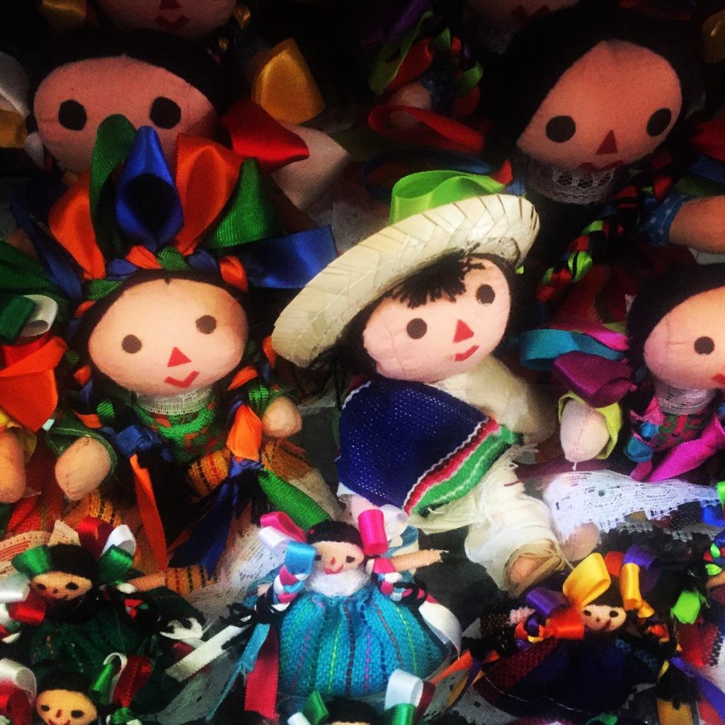 Muñeca Maria muñeca de trapo mexicana