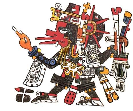 dios azteca del viento Ehécatl