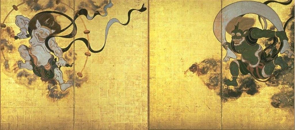 dios japonés de los vientos