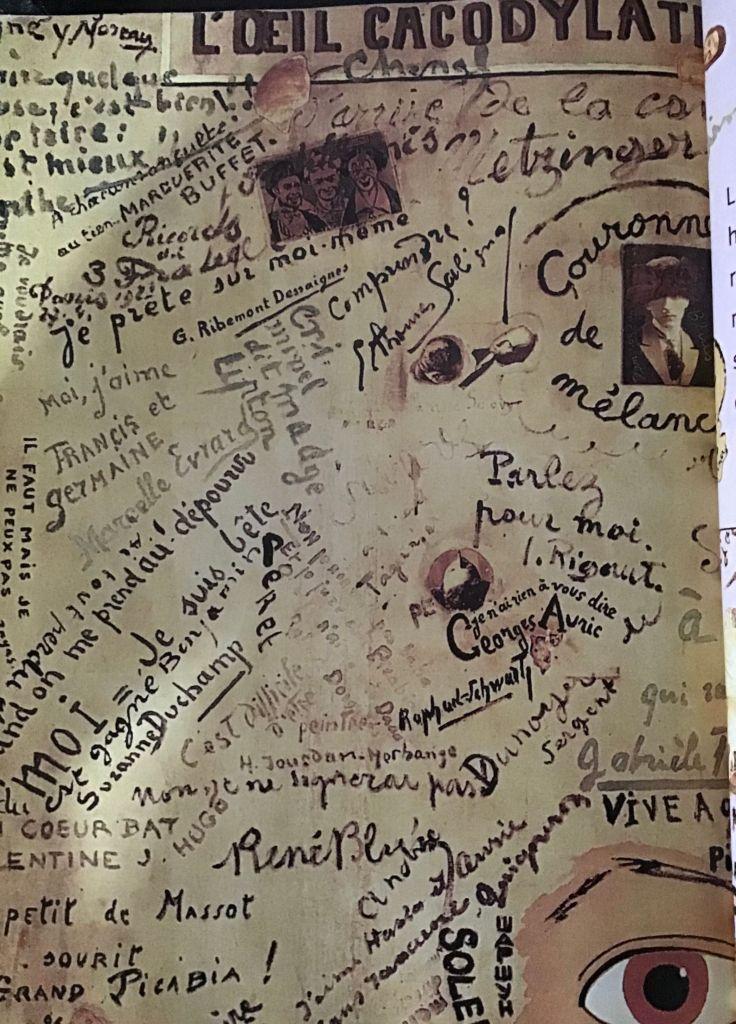 La Letra Escondida-poesía visual caligramas